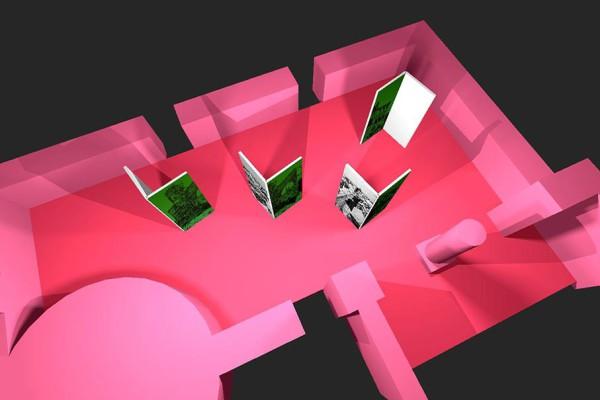 3D-Modell der Ausstellung. Bildnachweis: bauer & bauer Medienbüro