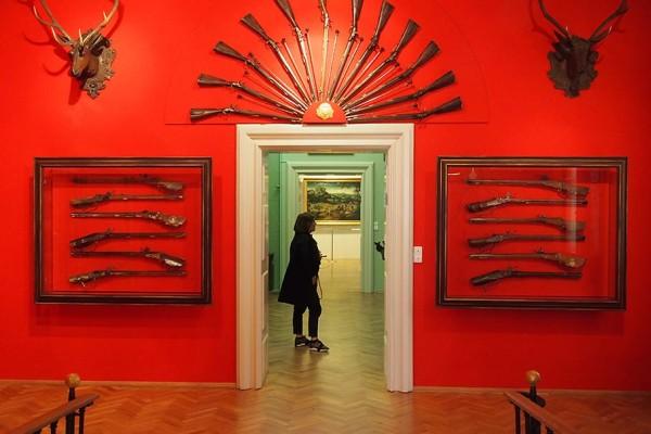 Im Museum des Palais Lobkowitz.