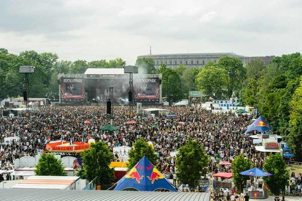 Rock im Park heute. Foto: Uwe Niklas